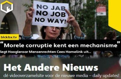 """""""Morele corruptie kent een mechanisme"""" legt Hoogleraar Mensenrechten Cees Hamelink uit…"""