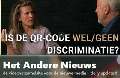 Is de QR-code wel/geen discriminatie? – Isa Kriens en Frank Stadermann