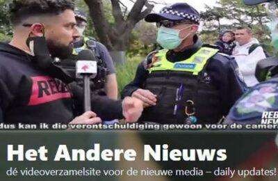 Australische politie maakt het de media lastig…  – Nederlands ondertiteld