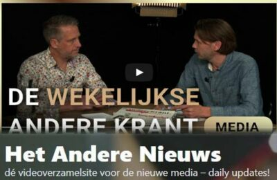 De wekelijkse Andere Krant – Erik van der Horst en Sander Compagner