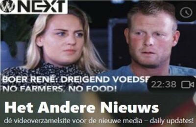 "Boer René: ""Dreigend voedseltekort? NO FARMERS, NO FOOD!"" – Laura Hos en René Staal"