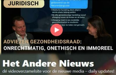 Adviezen Gezondheidsraad: onrechtmatig, onethisch en immoreel – Jeroen Pols en Maria-Louise Genet
