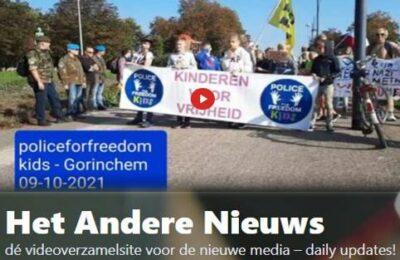 Police for Freedom Kids – Demonstratie Gorinchem 09-10-2021