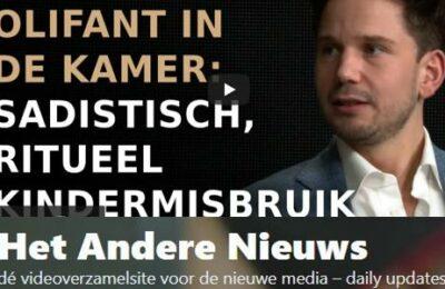 Olifant in De Kamer: Sadistisch, ritueel kindermisbruik – Erik van der Horst en Gideon van Meijeren