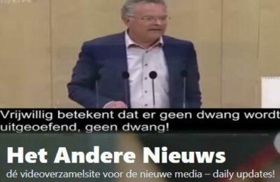 De speech van Gerald Hauser (FPÖ) in het Oostenrijks parlement