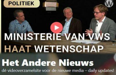Ministerie van VWS haat wetenschap – Erik van der Horst, Pepijn van Houwelingen en Ralf Dekker